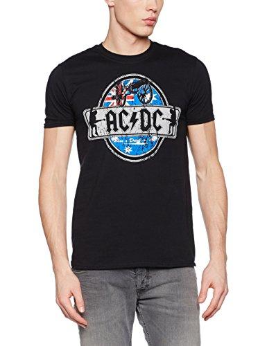 AC DC Herren T-Shirt, Drink, Gr.M