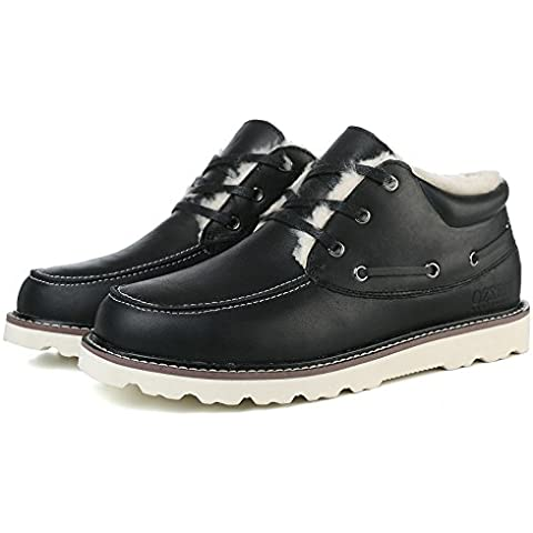 OZZEGFashon Shoes - Botas de nieve para chico hombre