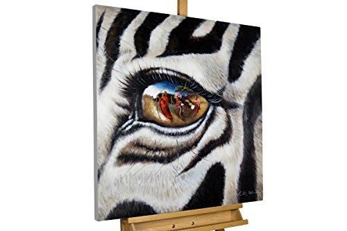 KunstLoft® Acryl Gemälde 'Stilles Gewissen' 80x80cm | original handgemalte Leinwand Bilder XXL |...