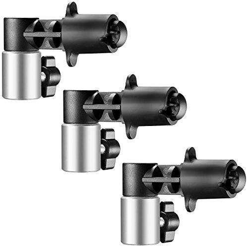 Neewer 3 piezas de Pinzas de fondo y Reflector disco para estudio fotografía disco Reflector de luz robusto sujetando y abrazadera de colocación hecho montaje en trípode de soporte de la luz