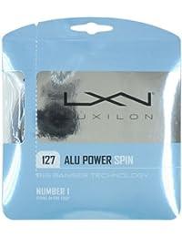 Wilson Alu Power Spin String Cordaje, Unisex adulto, Plateado (Silver), 127