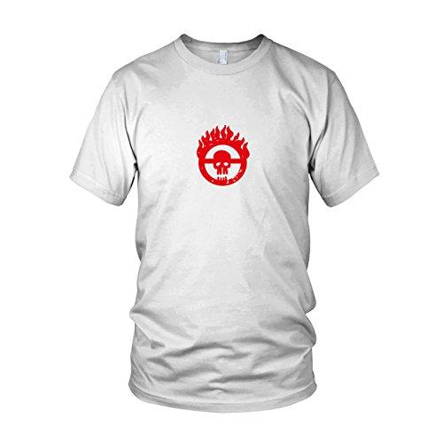 Mad Fury - Herren T-Shirt, Größe: S, Farbe: weiß
