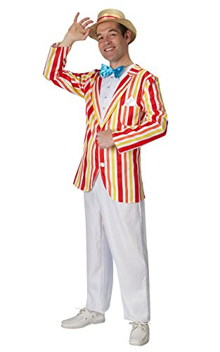 Rubie 's Offizielles Disney Bert Kostüm Jolly Holiday Mary Poppins, Erwachsene Kostüm–Standard (Poppins Mary Kostüm Hut)