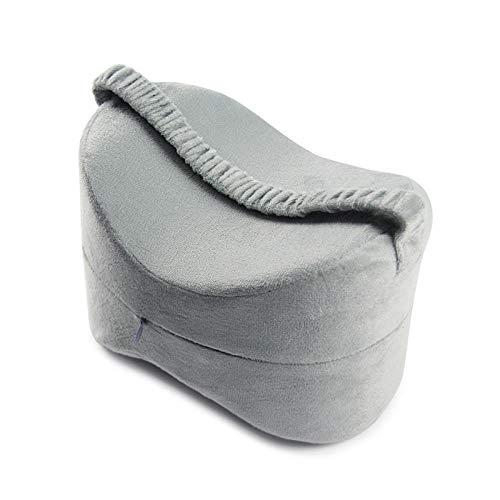 Bonanic Sleep Wellness Memory Foam Hip allineamento Gamba Cuscino Cuscino di Sostegno con Ginocchia e ridurre Dolore Lavabile Copertura