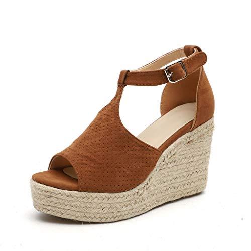Fannyfuny Zapatos Mujer Tacon Sandalias