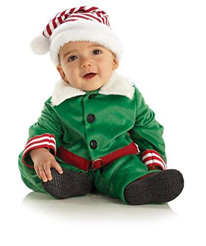 Süßes Elfen Kostüm ~ Weihnachtskostüm ~ Fotoshooting ~ Baby ~ Jungen Gr. 92-98 = Größe Medium