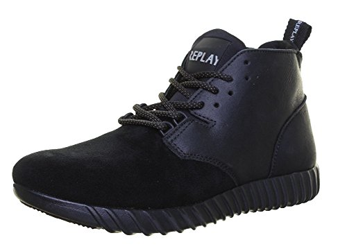 Replay Stamford, Bottes pour Homme Black D12