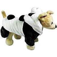 Vycloud (TM) Pet Dog Clothes Dog tuta pagliaccetto del cappotto del rivestimento dell'animale domestico per vestiti del cane Panda Pet Costume con cappuccio inverno caldo abbigliamento autunno