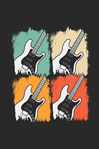 Pop Art Guitar: Blank Lined Notebook - Journal for Guitarist And Musician -