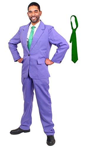ILOVEFANCYDRESS SCHURKEN BOSS Willy KOSTÜME VERKLEIDUNG Fasching Karneval KOSTÜM Comic Figur =BEINHALTET-LILA Anzug MIT GRÜNER Krawatte = SMALL (Storm Marvel Comics Kostüm)