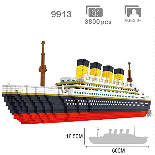 Aiya Klassische Film Titanic große Kreuzfahrtschiff Boot 3D modle DIY Micro Mini Nano blöcke Ziegel Montage Diamant gebäude Spielzeug Sammlung - Spielzeug Junge Gebäude