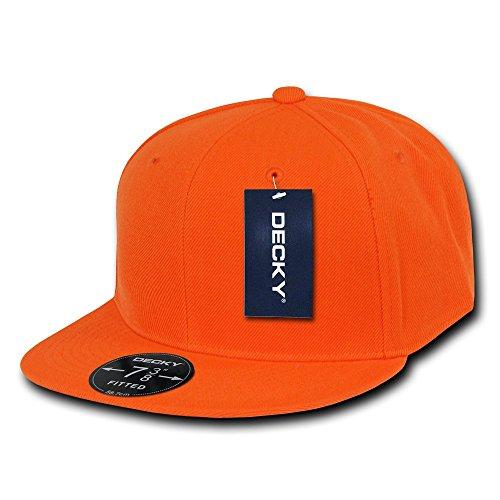 Decky Retro Fitted Caps Head Wear, Herren, Orange, Size 23