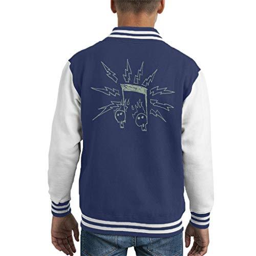 Comics Kingdom Zits Electric Notes Kid's Varsity Jacket High-school-varsity-jacken