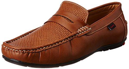 Duke Men's Tan Loafers and Moccasins - 10 UK/India (44 EU)