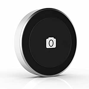 Satechi Bluetooth Button Series for iPhone 6 Plus/6/5S/5C, iPod Touch 5G/4G, iPad Air 2/Air/Mini/3/2/1, Samsung Galaxy S5/S4/Note 4/3/2/Edge/Pro/Tab Pro, Google Nexus 9/7/6/5, Moto X/G, LG G3, and more (Shutter Button)