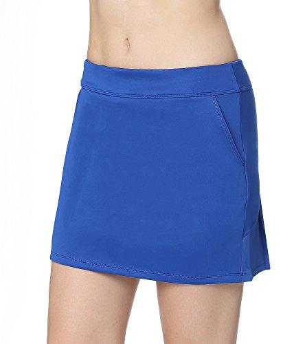 Faldas De Tenis plisada Con CordóN EláStico Mujer Skort De Golf
