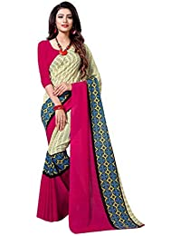 be2758923f2212 sidhidata Textile women s Daily Wear Casual Wear Designer Printed Synthetic  Georgette Saree With Unstitched Blouse Piece