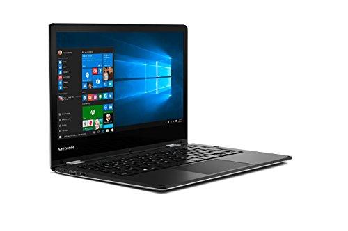 Medion E2215T MD60252 Akoya 29,5 cm (11,6 Zoll) Convertible Touch-Notebook (Intel Atom, 2 GB RAM, 64 GB Flash-Speicher, Intel HD-Grafik, Win 10 Home) schwarz - 6