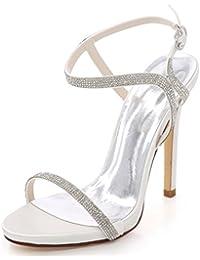 L YC Tacco a Spillo da Donna D7216-09 Prom Party Scarpe da Sposa eaf134fdc39