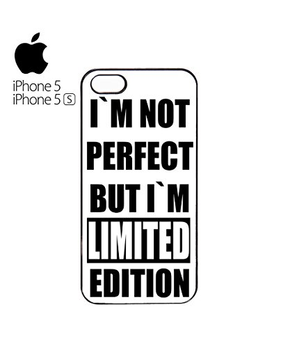 I Am Not Perfect But I Am Limited Edition Mobile Cell Phone Case Cover iPhone 6 Plus Black Blanc