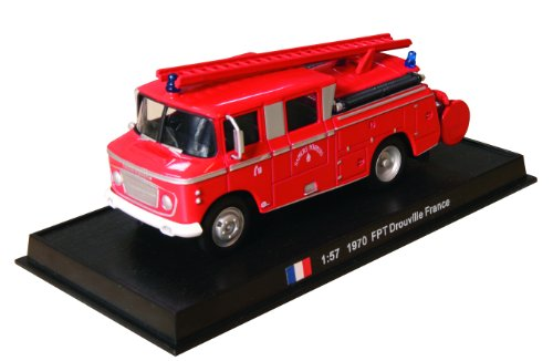 FPT Drouville - 1970 diecast 1:57 fire truck model (Amercom SF-21)