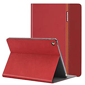 AUAUA iPad Mini 4 Hülle, iPad Mini 4 Hülle PU Leder Tasche Schutzhülle mit Auto aufwachen / Schlaf Funktion + Clear Schutzfolie (Gift) für Apple iPad Mini 4 Hülle Zoll Apple Tablet