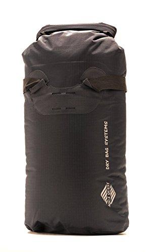 20L Wasserdichter Rucksack Trockenbeutel - Aqua Quest Tragetasche - Strapazierbar & Leichter Tagesrucksack mit Rollverschluss - Grau, Rot oder Schwarz Grau