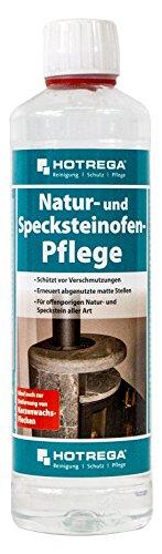 Hotrega H120140 Natur- und Specksteinofen-Pflege, 500ml (Kerze Wachs-entferner)