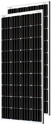 Loom Solar 180 Watt-12 Volt Mono PERC Panel (Pack of 2)