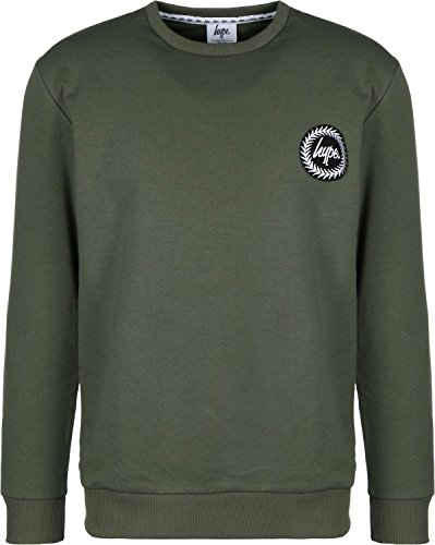 hype-crest-sweater-khaki