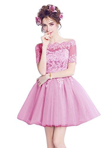 Vimans -  Vestito  - linea ad a - Donna Pink2