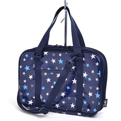 Kids Calligraphy, penmanship set Kuretake brilliant star navy blue made in Japan N2205010 of case on style (japan import)