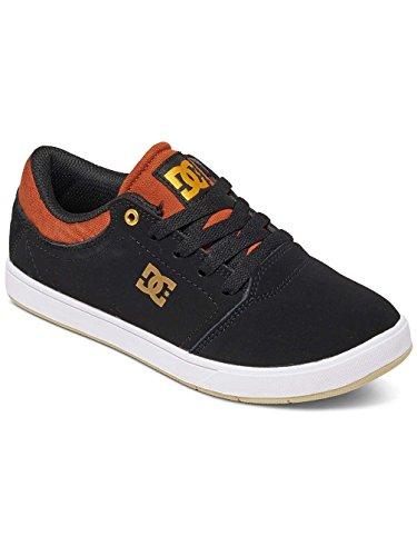 DC Shoes Crisis - Chaussures pour Garçon ADBS100209 Multi-Couleurs - Black/Brown/White