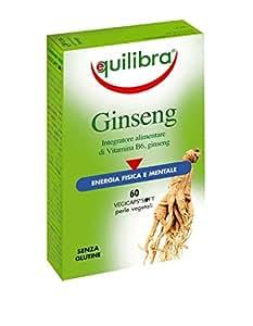 Equilibra - Ginseng, 60 Perle Vegicaps - [pacco da 2]