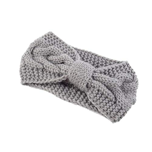 Bongles Gestrickte Haarband Mädchen Häkeln Twist Geflochtene Kopf Wraps Winter-Ohr-Wärmer Für Frauen (Kälte Kostüm Frauen)