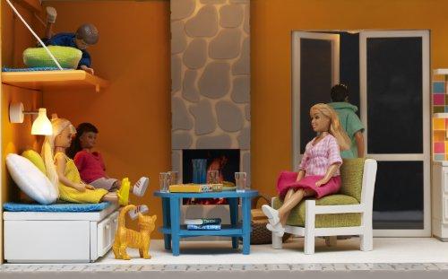 Lundby 83.2003.00 - Gotland: Set salotto (mobili per casa delle bambole)