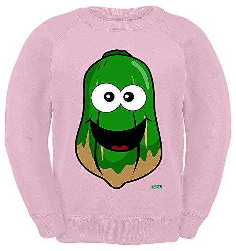 HARIZ Kinder Sweater Papaya Lachend Früchte Bunt Plus Geschenkkarten Rosa 116/5-6 Jahre