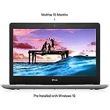Dell Inspiron 3493 14-inch FHD Laptop (10th Gen Ci5-1035G1/8GB/1TB HDD/Win 10 + MS Office/Intel HD Graphics/Silver) E-C560511WIN9