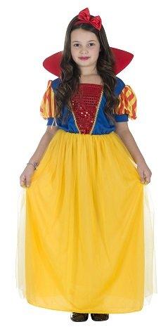 Monster Kinder Schneewittchen Kleid Kostüm Größe L Karneval Snow White 50129 Prinzessin