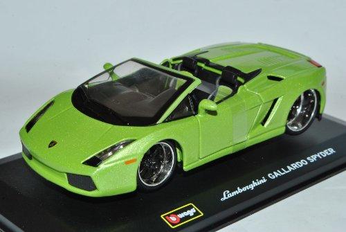 Bburago Lamborghini Gallardo Spyder Cabrio Grün 1/32 Modell Auto