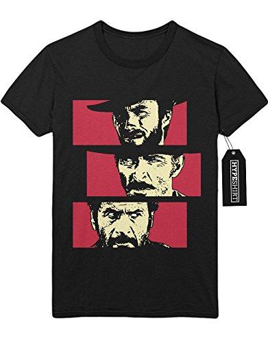 Kostüm Cattivo (T-Shirt Zwei glorreiche Halunken H549338 Schwarz)