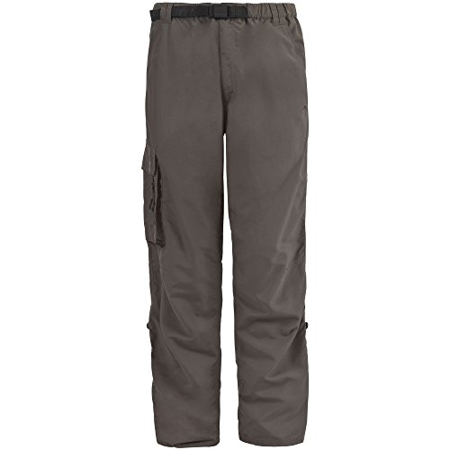 Trespass - Baslow - Pantaloni Cargo Resistenti all'Acqua - Uomo Kaki