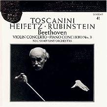 Beethoven: Violin Concerto, Piano Concerto 3 By Arturo Toscanini (0001-01-01)