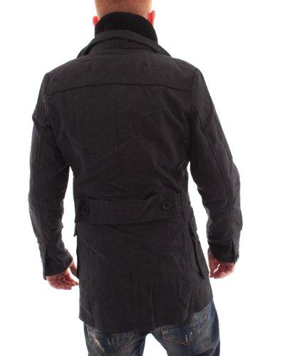 VSCT 2in1 Trenchcoat Mantel Black