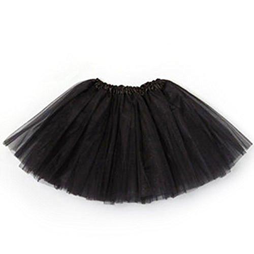 ESHOO Kindermädchen-Ballett-Tanz-Ballettröckchen-Kostüm-Partei-Prinzessin-Rock-Kleid 3 (Partei 2 Kostüm)