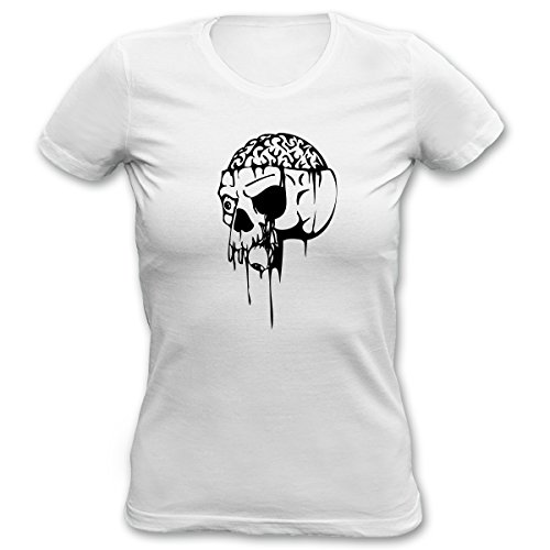 cooles Halloween Damen Girl Shirt Kostüm Karneval Fasching Mädchen T-Shirt Geschenk Geburtstag Goodman Design