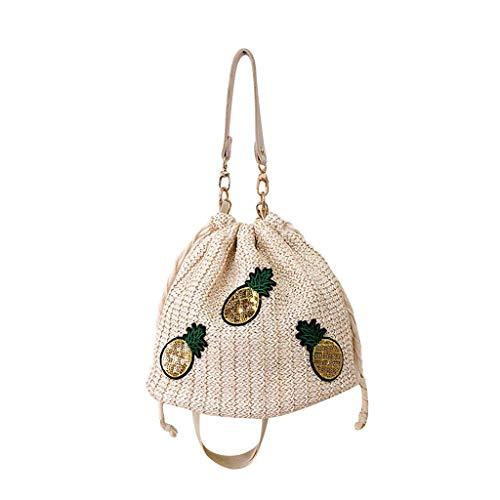 OIKAY Mode Damen Tasche Handtasche Schultertasche Umhängetasche Mode Neue Handtasche Frauen Umhängetasche Schultertasche Strand Elegant Tasche Mädchen 0605@061