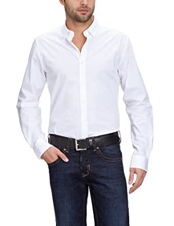 Jack & Jones Premium - Chemise - Homme - Blanc (Optical White) - FR : X-Small (Taille fabricant : 54)