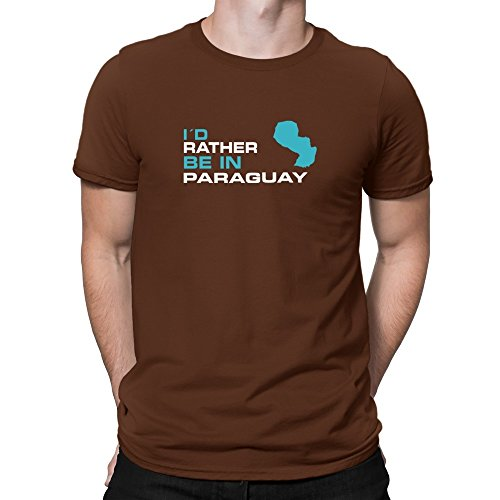 Teeburon I'D RATHER BE IN Paraguay Camiseta