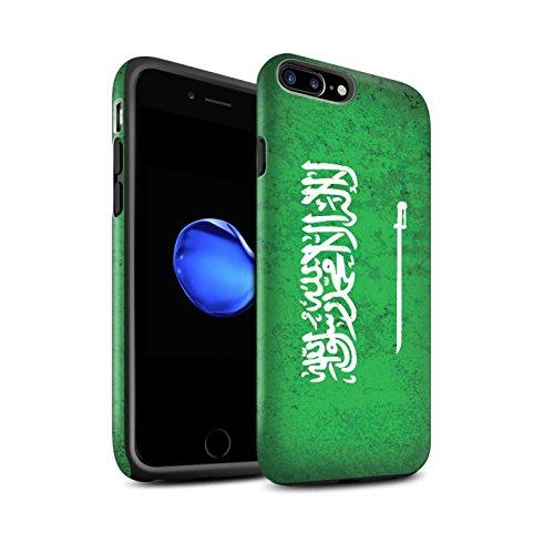 STUFF4 Matte Harten Stoßfest Hülle / Case für Apple iPhone 6 / Georgien/Georgisch Muster / Asien Flagge Kollektion Saudi Arabien/Arabisch